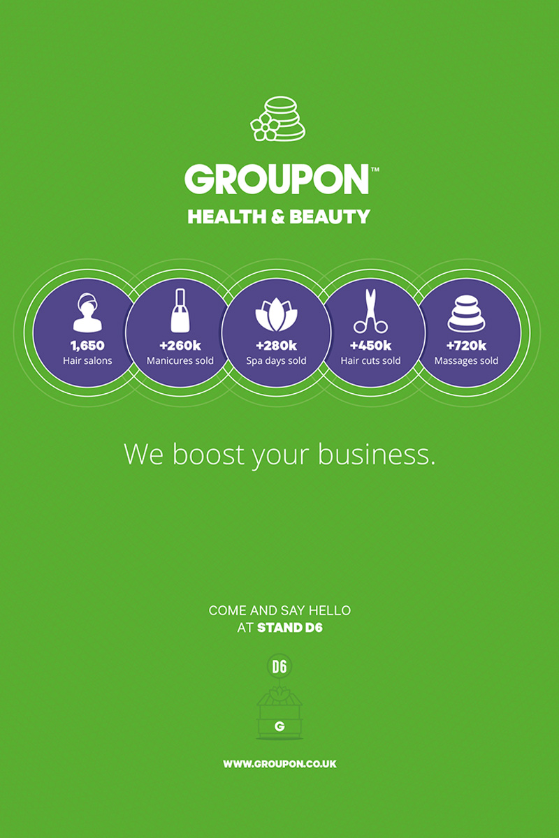 Groupon HJ Live Advert