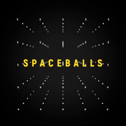 Animated Balls in Space
